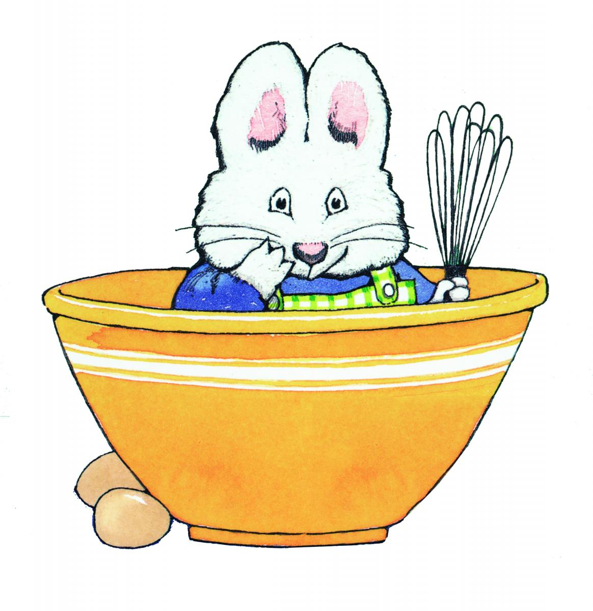 Enchanting Max And Ruby Bunny Cakes Coloring Pages Festooning ...